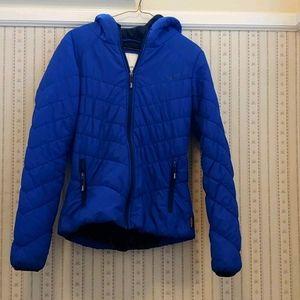 Bench Blue women's Puff Jacket Size M